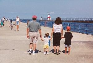 2001 8 aug fam walk